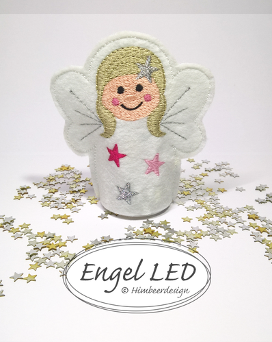 Engel Stickdatei LED 10x10