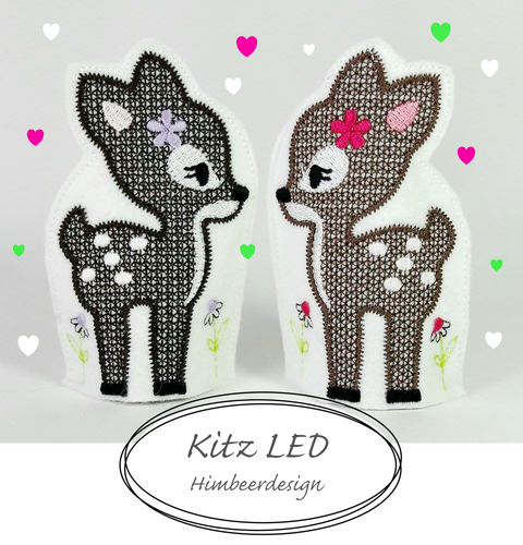 Kitz Stickdatei LED 10x10