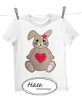Hase 13x18 Applikation Stickdatei SET
