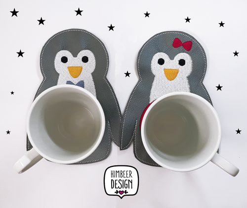 Pinguin Stickdatei Mugrug SET ITH