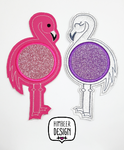 Flamingo Stickdatei Mugrug SET ITH